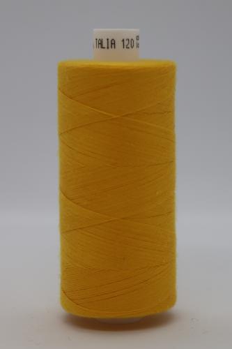 Polyesterová ni� Talia 120 - 1000m žlutooranžová 705