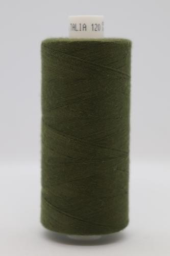 Polyesterová ni� Talia 120 - 1000m tmavì zelená 756