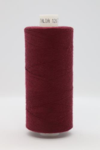 Polyesterová ni� Talia 120 - 1000m vínová 827