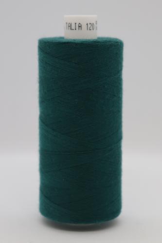 Polyesterová ni� Talia 120 - 1000m tmavì zelená 866