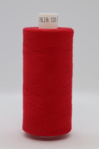 Polyesterová ni� Talia 120 - 1000m èervená 904