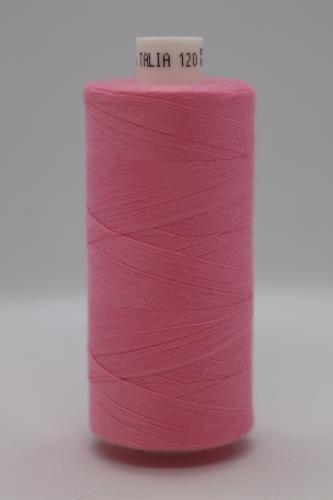 Polyesterová ni� Talia 120 - 1000m rùžová 7172
