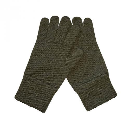 Rukavice pletené - khaki