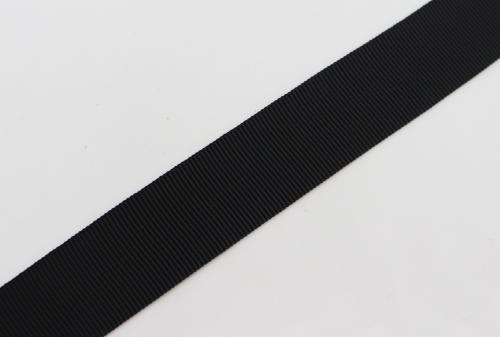 Rypsová stuha èerná 20 mm