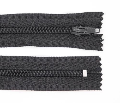 Spirálový zip šíøe 5 mm délka 14 cm nedìlitelný