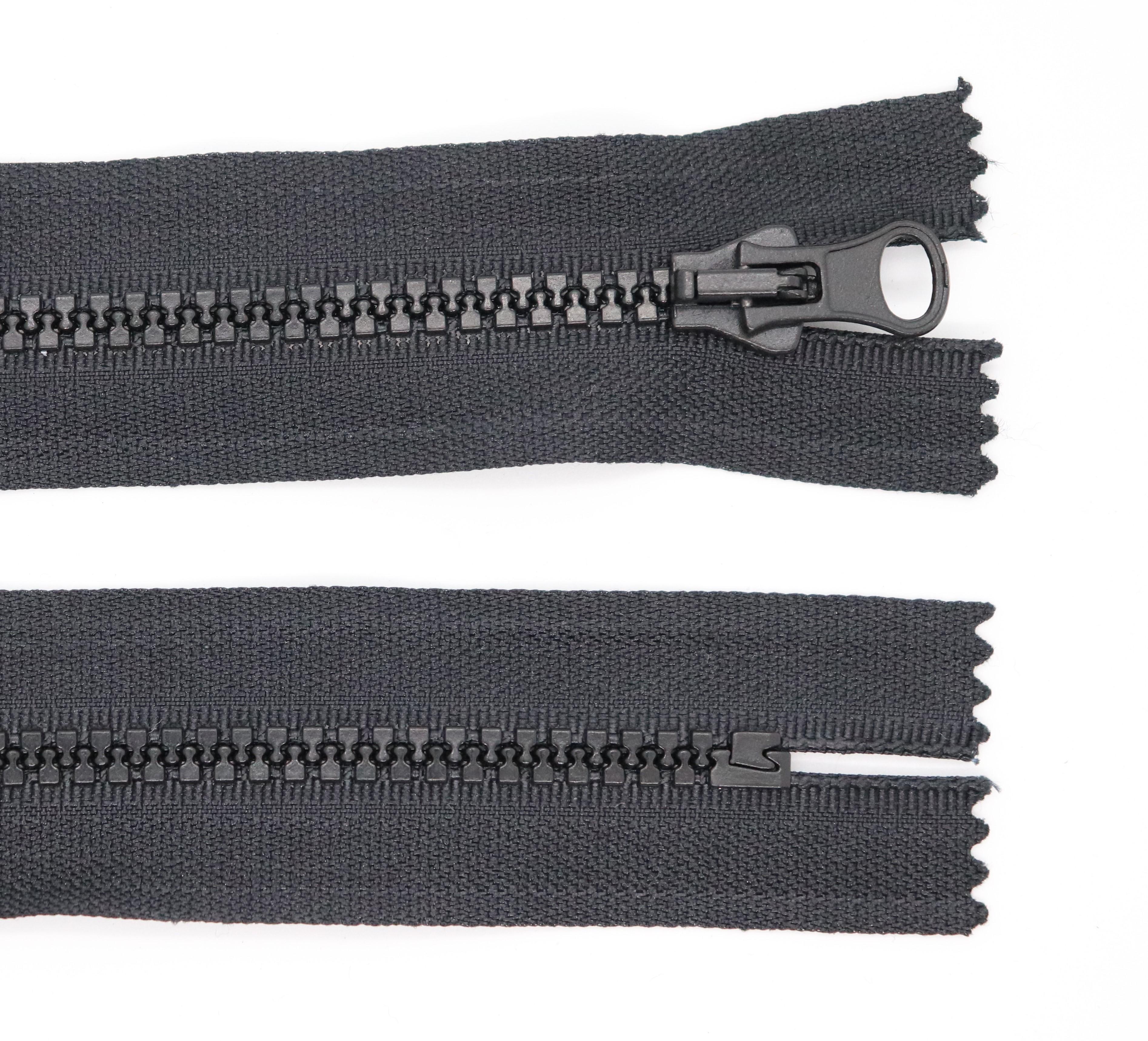 Kostìný zip šíøe 5 mm délka 14 cm nedìlitelný - zvìtšit obrázek