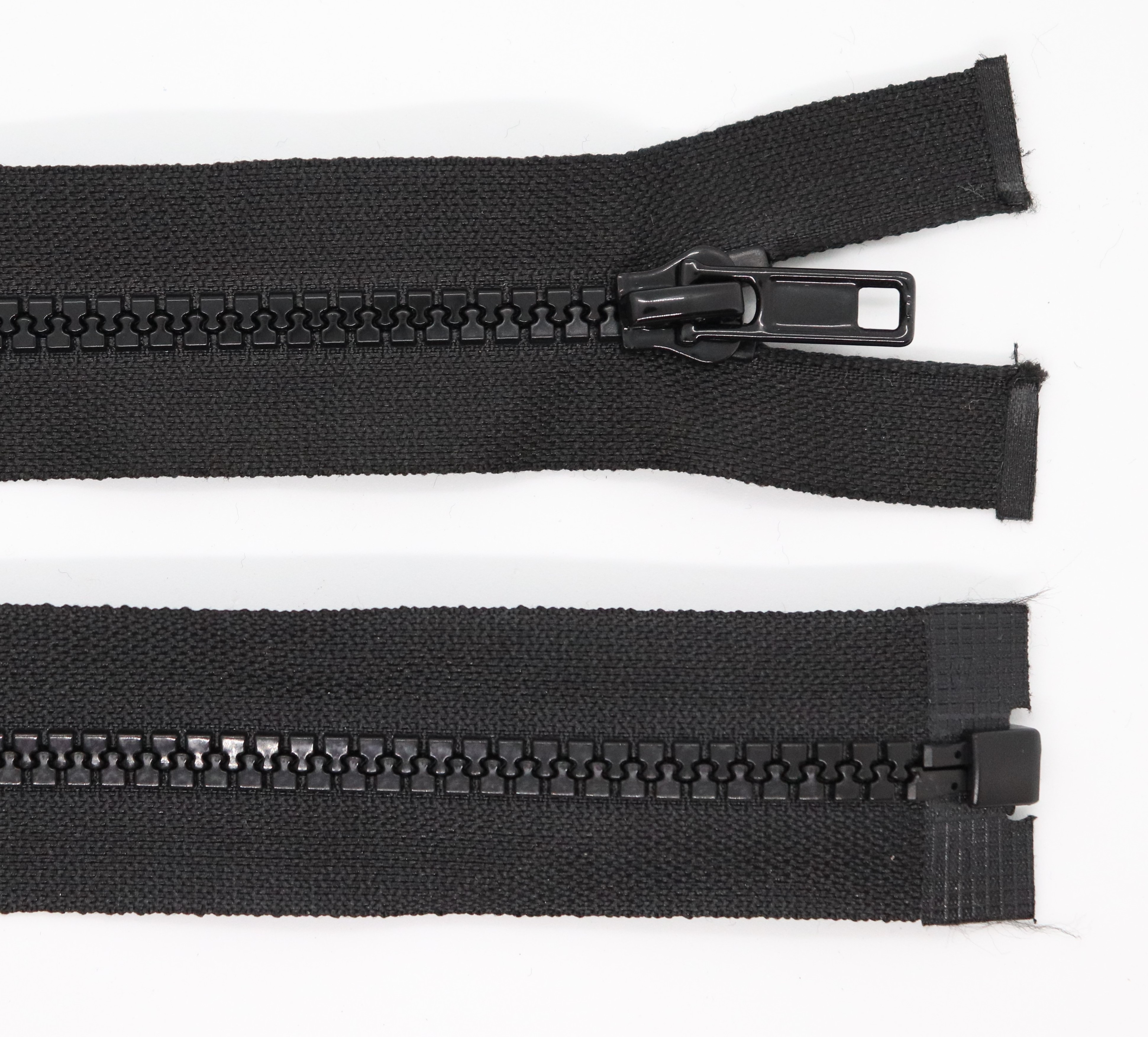 Kostìný zip šíøe 5 mm délka 65 cm dìlitelný - zvìtšit obrázek
