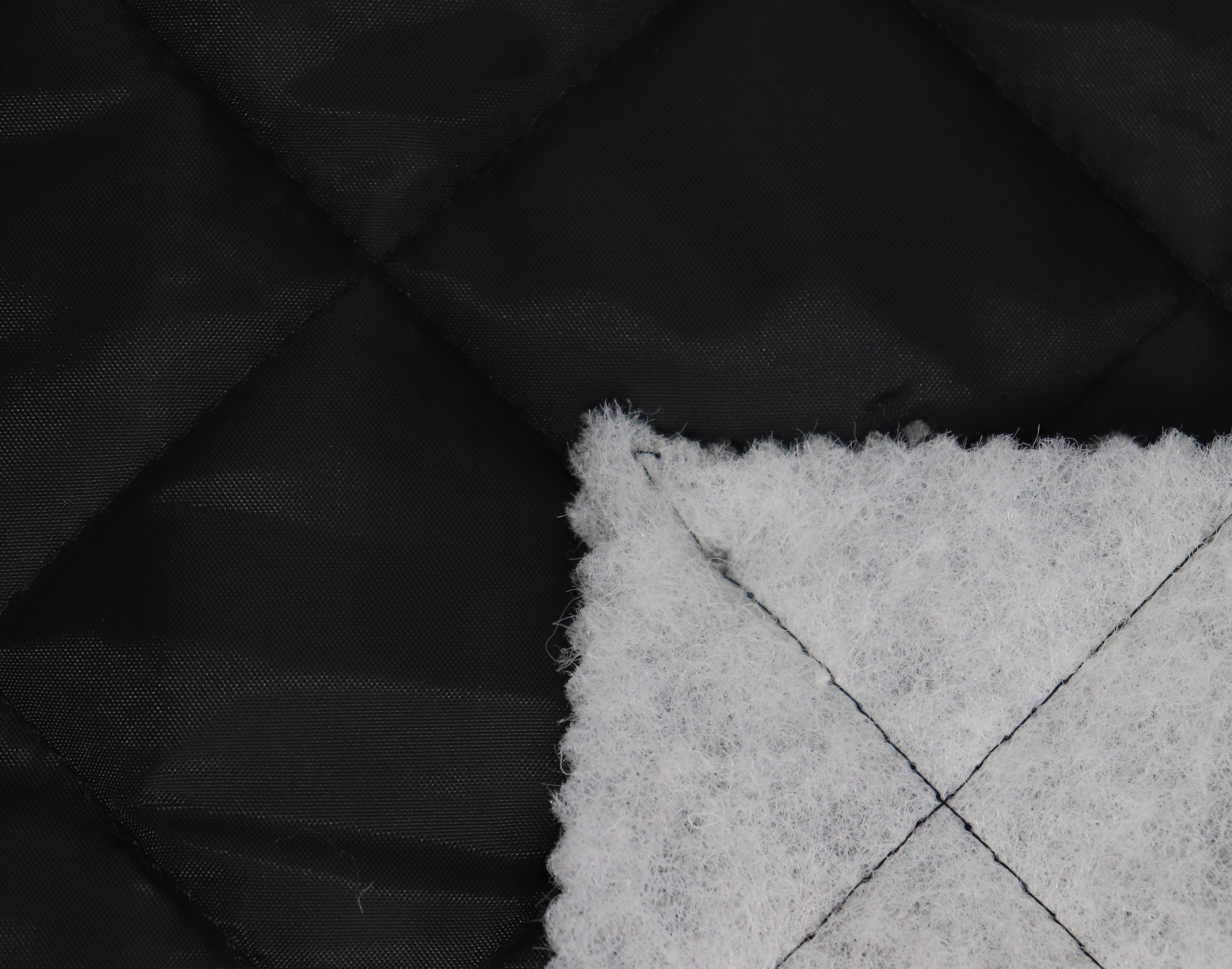Zateplená podšívka - prošev èerná 120 g/m² - zvìtšit obrázek