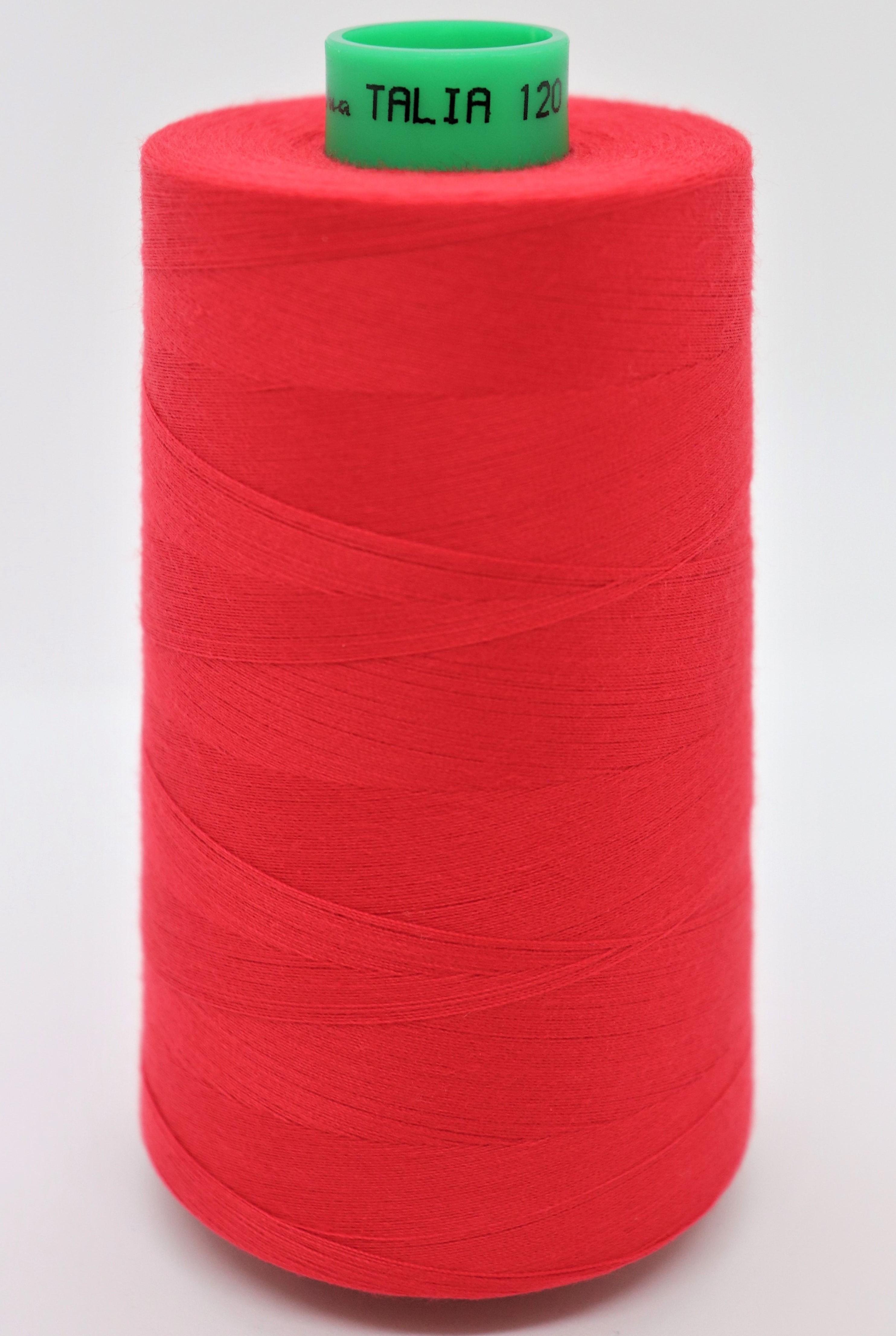 polyesterov� ni� Talia 120 - 5000m �erven� barva 904 - zv�t�it obr�zek