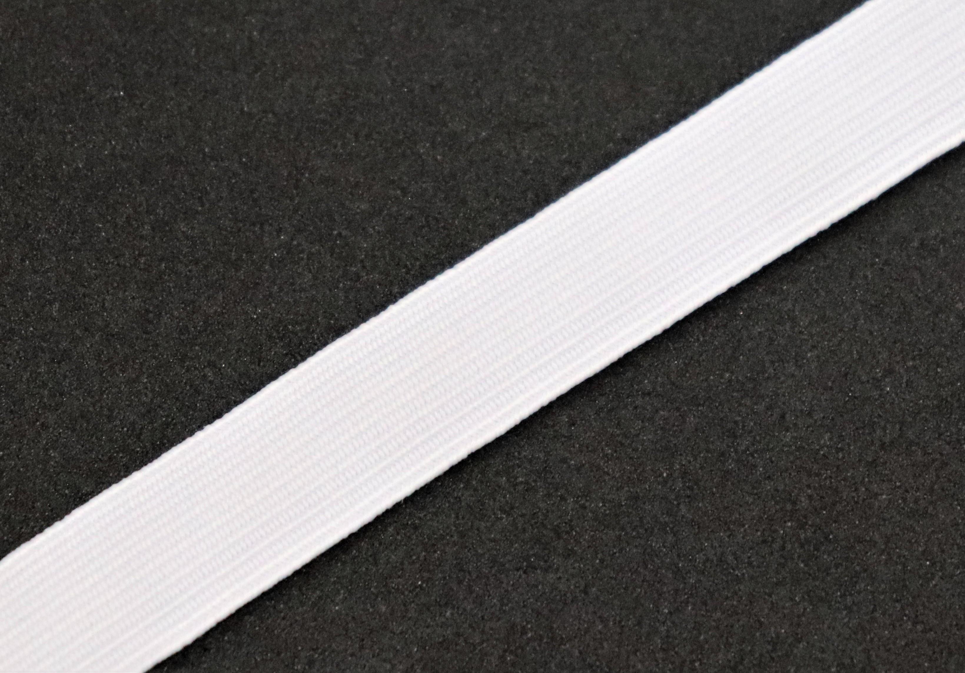 Prádlová pruženka bílá 10 mm - zvìtšit obrázek