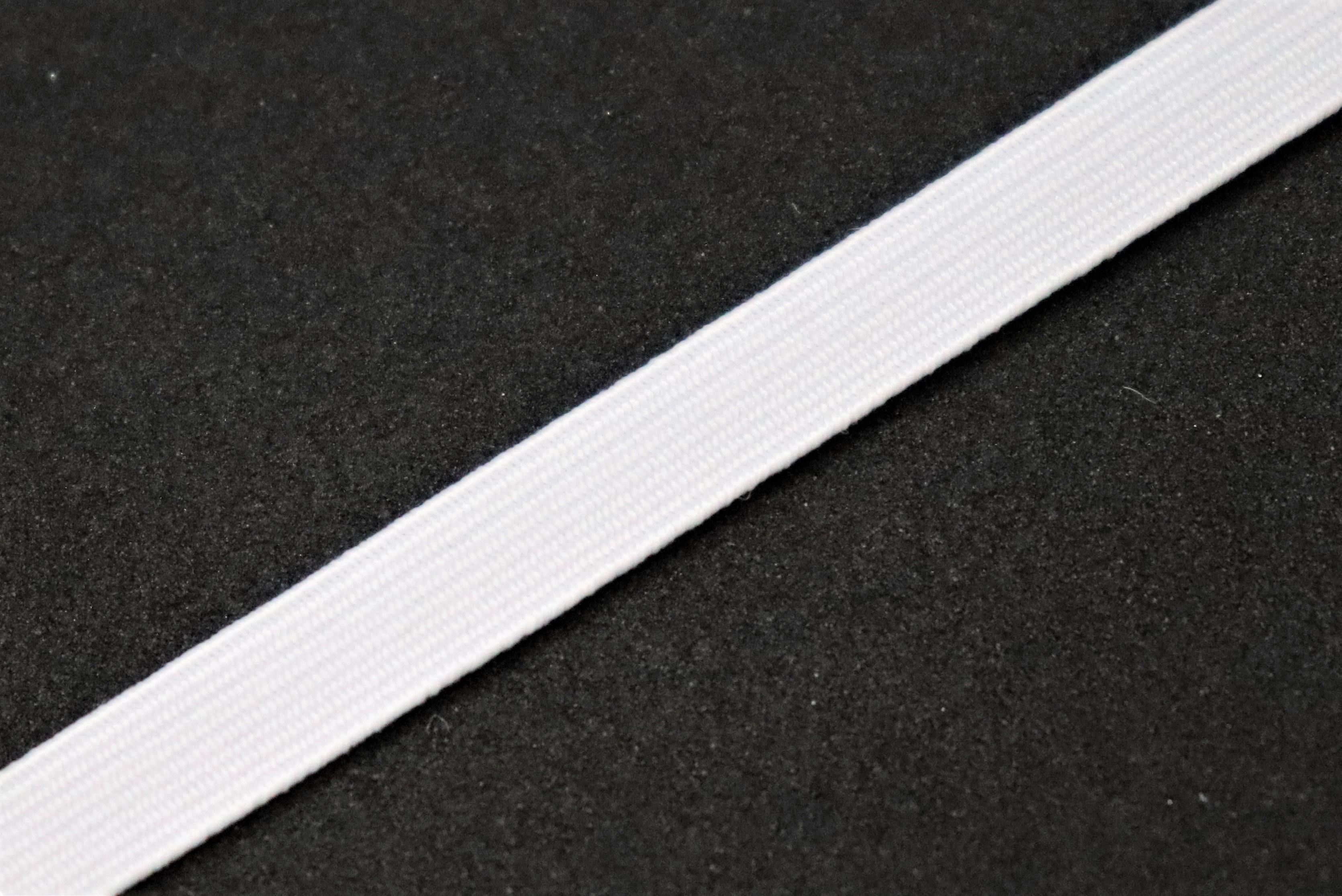 Prádlová pruženka bílá 8 mm - zvìtšit obrázek